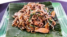 Еда Азии на улице Стоковое Изображение RF