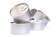 Еда алюминиевых чонсервных банк, Стоковая Фотография RF