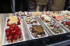 Еда Бельгии туризма Стоковые Изображения RF