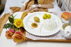 Еда больницы Стоковое фото RF