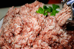 Еда варя мясо свежее Стоковое Фото