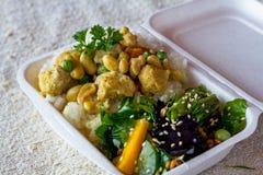 Еда вегетарианской еды здоровая Стоковая Фотография