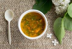 Еда вегетарианской еды здоровая стоковая фотография rf