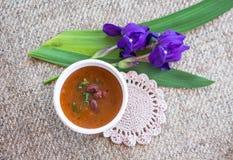 Еда вегетарианской еды здоровая стоковое изображение