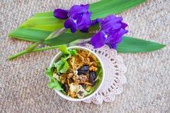 Еда вегетарианской еды здоровая Стоковые Изображения