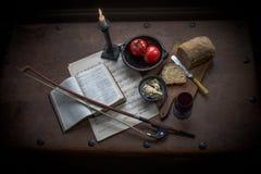 Еда влюбленности Стоковые Фотографии RF