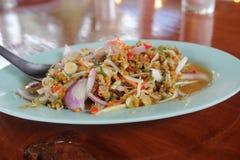 Еда горячая и пряная в Таиланде Стоковые Изображения
