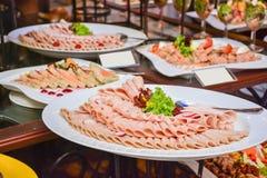 Еда гостиницы Srilankan Стоковое Изображение RF
