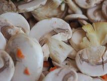 еда гриба champignon Стоковые Фото
