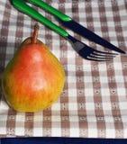 Еда груши Стоковые Фотографии RF