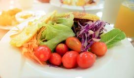 Еда, завтрак, кофе, хлеб, здравица, рис Стоковая Фотография
