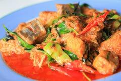 Еда зажаренная рыбами, Стоковая Фотография RF
