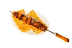 Еда изолированная на белой предпосылке Стоковые Фото