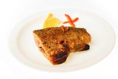 Еда изолированная на белой предпосылке Стоковая Фотография