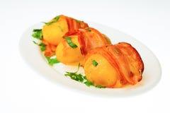 Еда изолированная на белой предпосылке Стоковое Фото