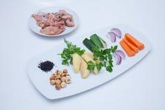 Еда: Ингредиенты Стоковые Фотографии RF