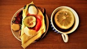 Еда и питье Стоковое фото RF