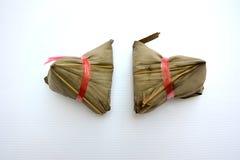 Еда китайца Zongzi Стоковое фото RF