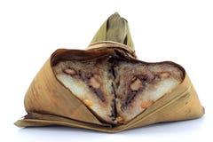 Еда китайца Zongzi Стоковая Фотография