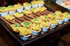 Еда коктеиля Стоковая Фотография RF