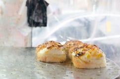 Еда корейца свежего хлеба Стоковое Фото