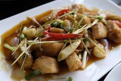 Еда кхмера Стоковая Фотография RF
