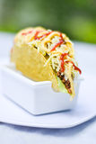 Еда мексиканца тако Стоковое Изображение RF