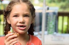 Еда моего печенья Стоковые Фотографии RF