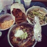 Еда на еде Стоковое Фото