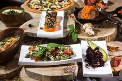 Еда на таблице Стоковые Фото