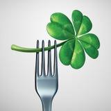 Еда дня St. Patrick Стоковые Изображения