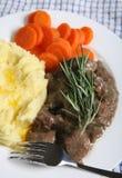 еда овечки fricassee Стоковые Изображения RF