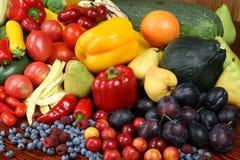 еда органическая Стоковая Фотография