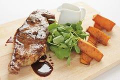 Еда отбивной котлеты Barnsley Стоковая Фотография RF