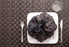 Еда отброса Стоковое Фото