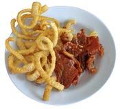 Еда от свинины Стоковые Фотографии RF