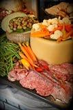 Еда партии на праздники Стоковые Фотографии RF