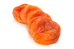 Еда помадки плодоовощ высушенного абрикоса Стоковое фото RF