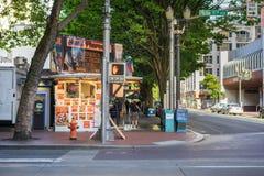 Еда Портленд Орегон улицы стоковое фото rf