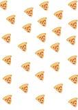 Еда: Предпосылка пиццы Стоковое Изображение RF