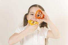 еда принципиальной схемы здоровая Стоковые Изображения