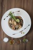 Еда пусковой площадки тайская Стоковое Фото