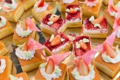 Еда ресторанного обслуживании Стоковая Фотография RF