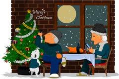 Еда рождества Стоковая Фотография