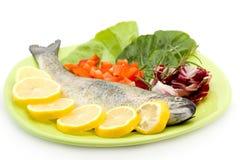еда рыб сырцовая Стоковое Изображение