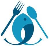 Еда рыб Стоковое фото RF