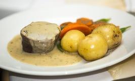 Еда свадьбы говядины Стоковое Фото