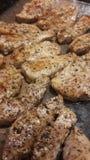 Еда свинины гриля Стоковые Фото