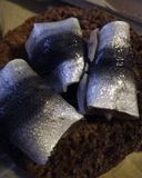 Еда сельдей сельдей рыб прибалтийская ест Стоковое Изображение