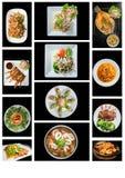 Еда сплавливания стоковые изображения